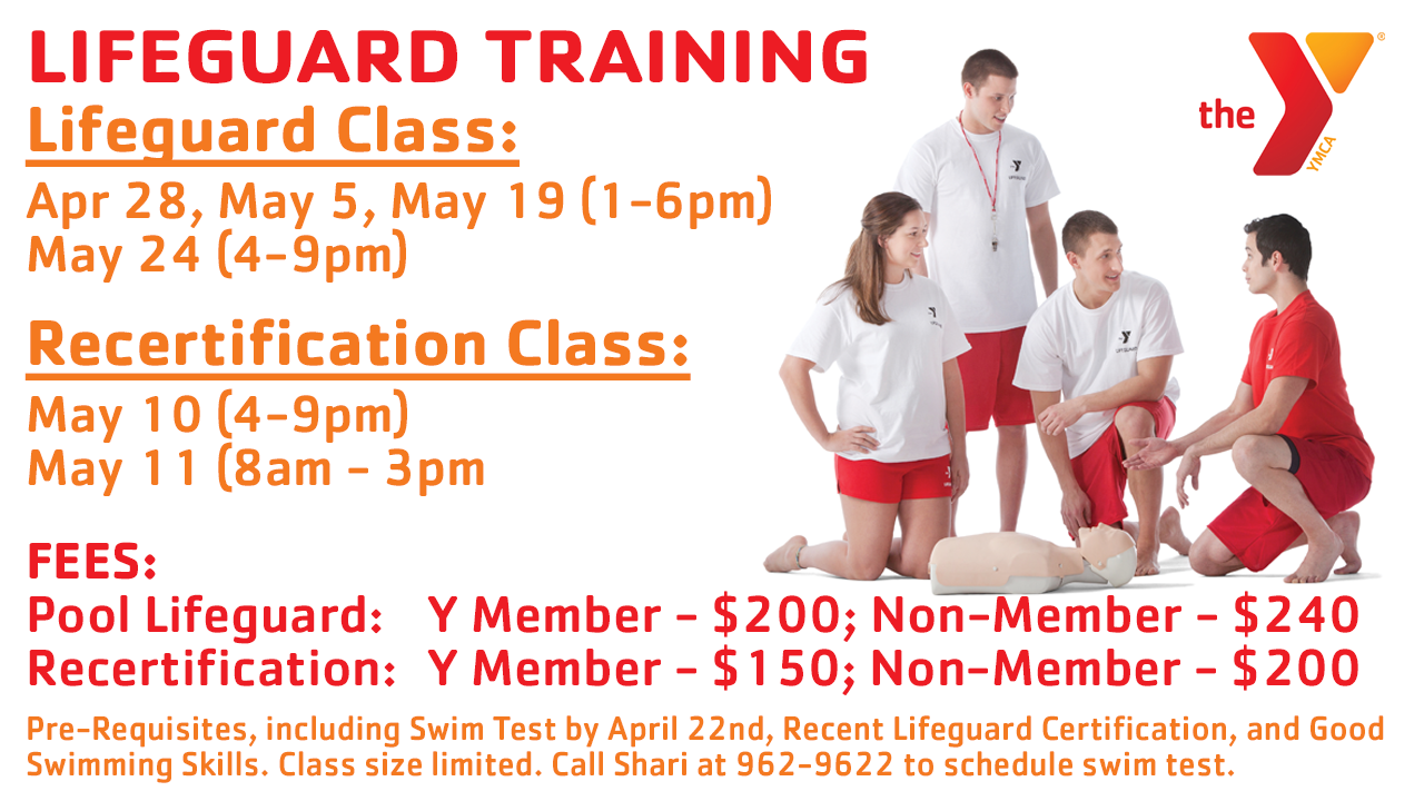 Lifeguard Recertification Spring 2019